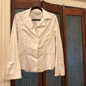 Kay Unger New York buttoned detailed shirt. 12
